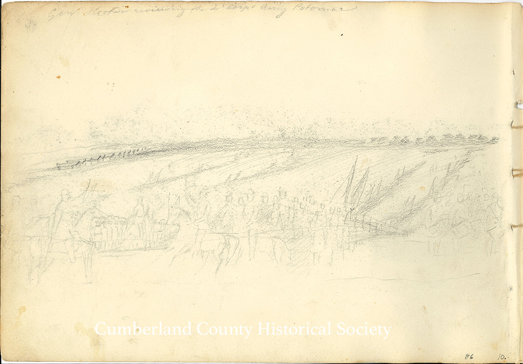 Gen. Hooker Reviewing the 2 Corps Army Potomac Image