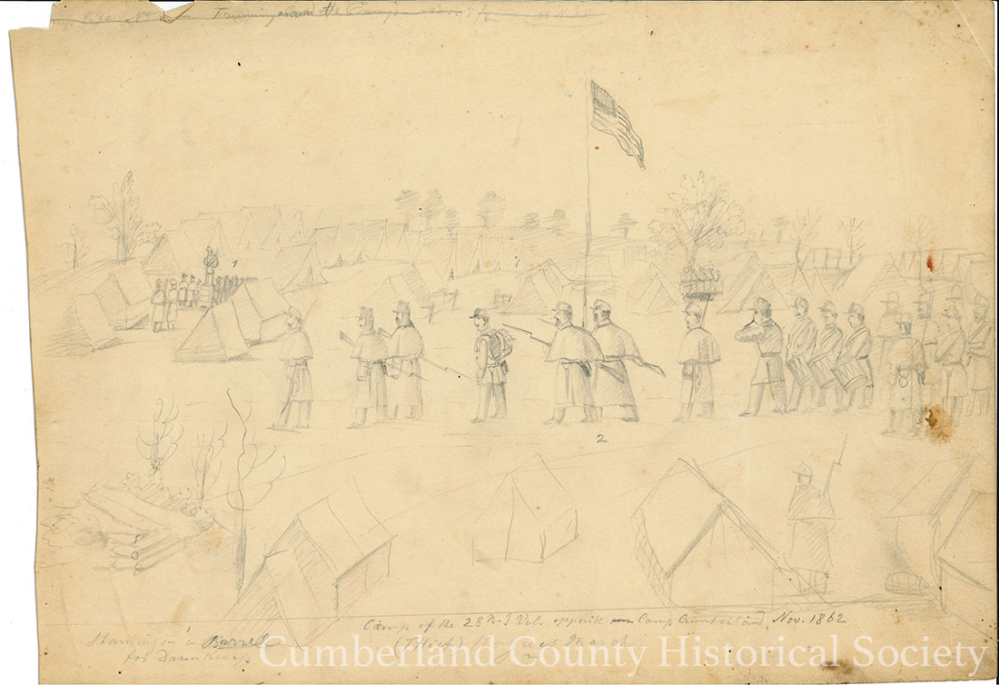 Camp Cumberland November 1862 Image