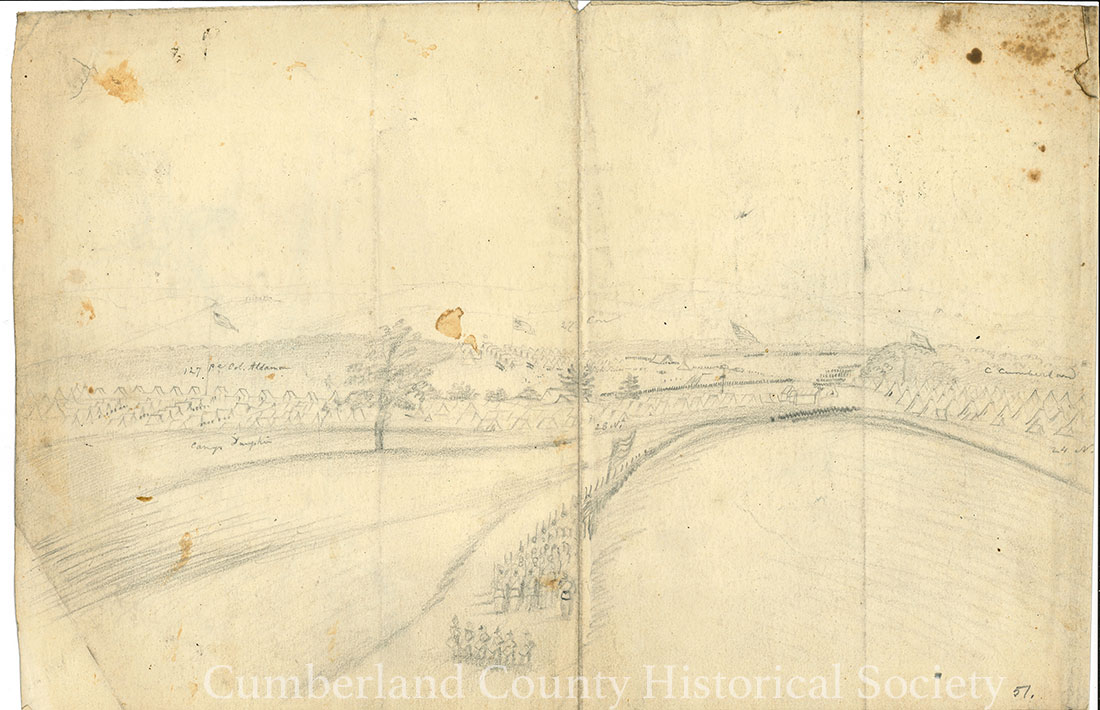 Camp Cumberland November – December 1862 Image