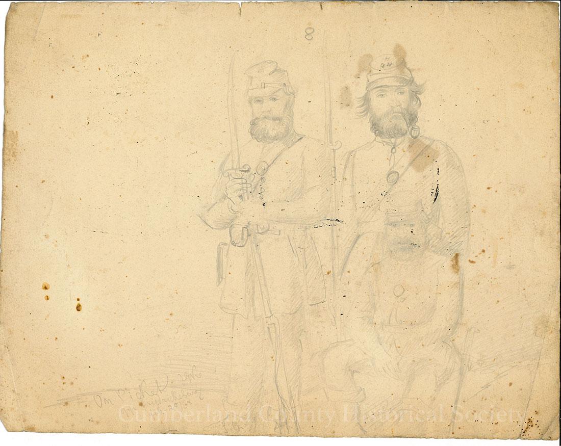 Fredericksburg – On Picket February 25, 1863 Image