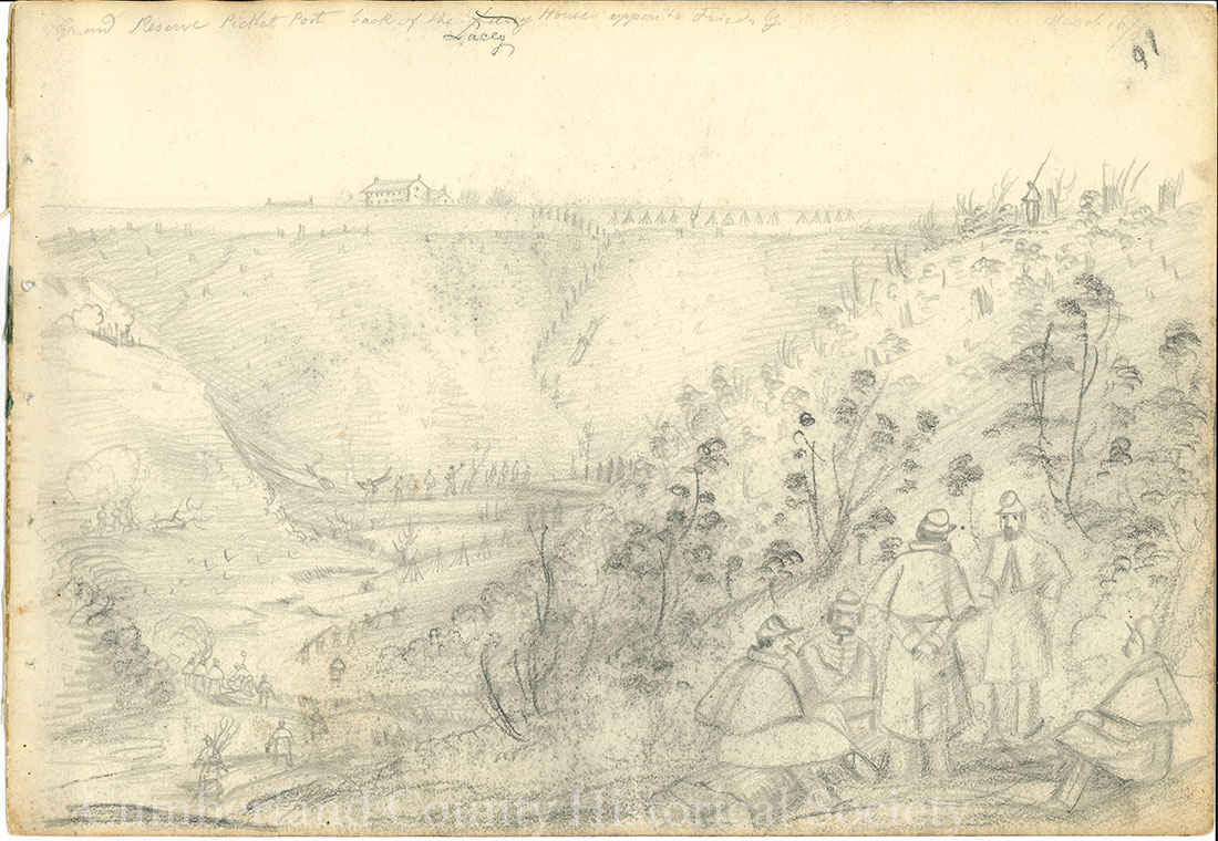 Fredericksburg March 16, 1863 Image
