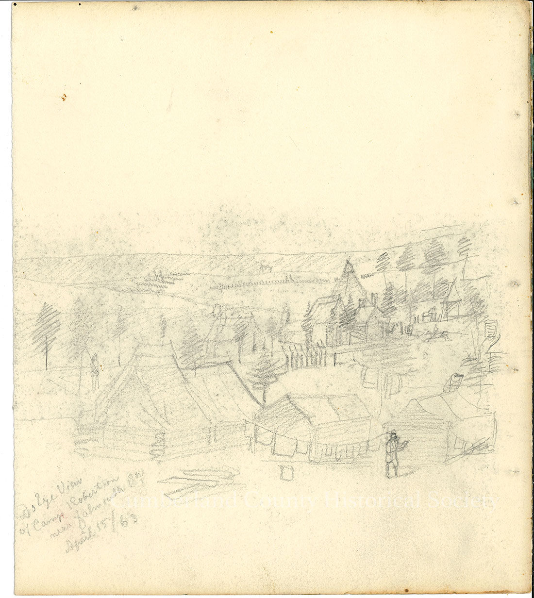 Camp Robertson April 15, 1863 Image