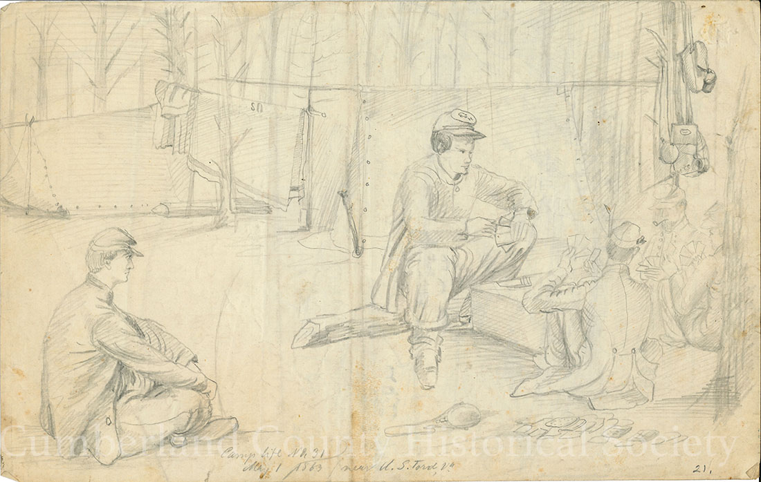 Camp life US Ford May 1, 1863 Image