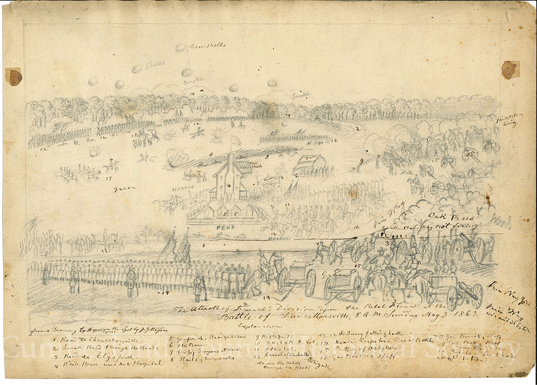 Chancellorsville May 3, 1863 Image