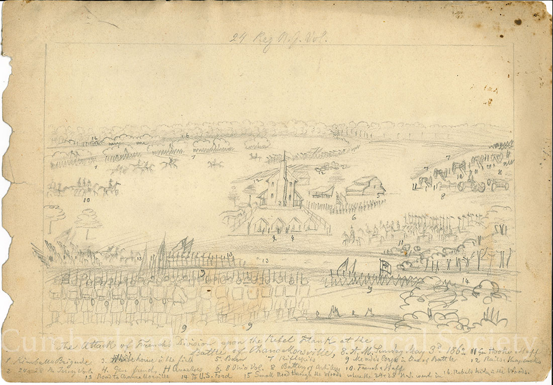 Chancellorsville May 3, 1863 (3rd) Image